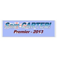 Carter for PM! Car Sticker