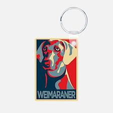 The Regal Weimaraner Keychains
