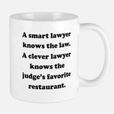 A Clever Lawyer Small Mug
