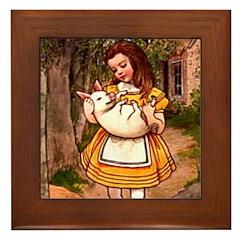 Kirk 6 Framed Tile