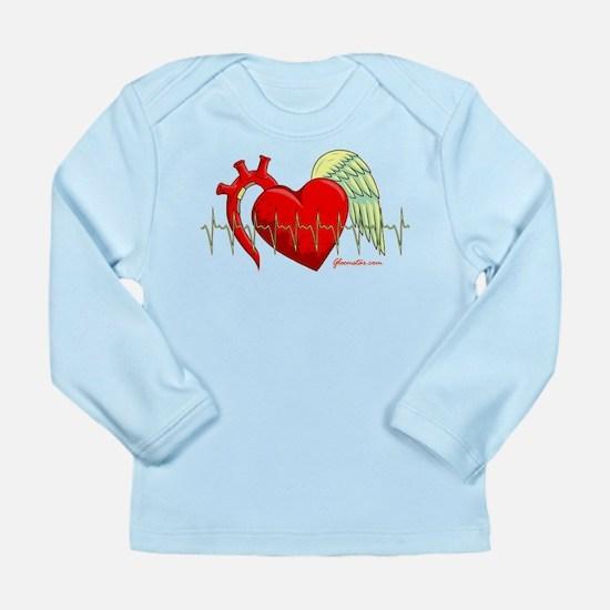 Heart Surgery Survivor Long Sleeve Infant T-Shirt