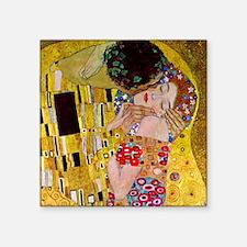 The Kiss detail, Gustav Klimt, Vintage Art Nouveau