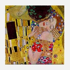 The Kiss detail, Gustav Klimt, Vintage Art Nouveau