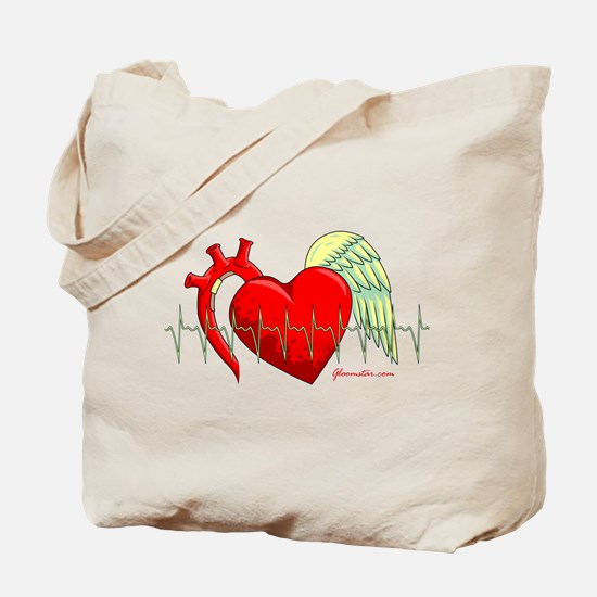 Heart Surgery Survivor Tote Bag