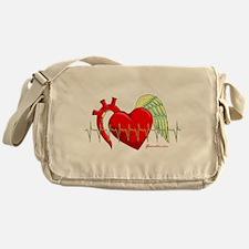 Heart Surgery Survivor Messenger Bag