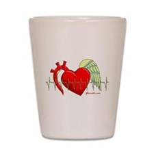 Heart Surgery Survivor Shot Glass