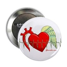 """Heart Surgery Survivor 2.25"""" Button"""