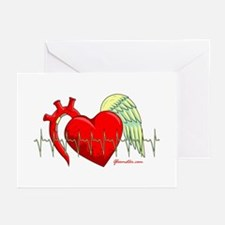 Heart Surgery Survivor Greeting Cards (Pk of 20)