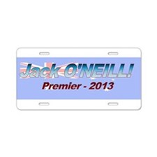 ONEILL cir 2013 Aluminum License Plate
