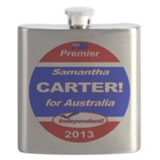 Carter for PM! Flask