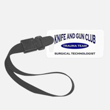 KNIFE & GUN ST BLUE.png Luggage Tag