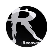 iRecover - Clean. Serene. Proud Ornament (Round)