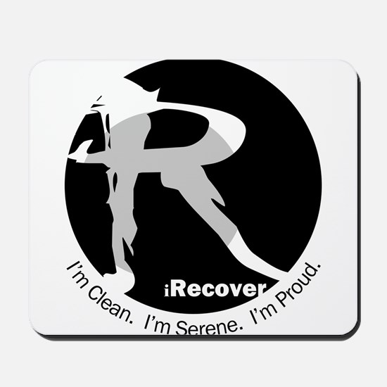 iRecover - Clean. Serene. Proud Mousepad