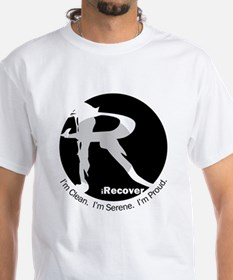iRecover - Clean. Serene. Proud T-Shirt
