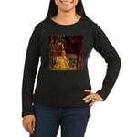 Kirk 7 Women's Long Sleeve Dark T-Shirt