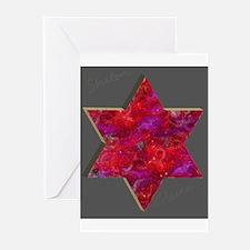Jewish Star Chanukah Cards (Pack of 6)