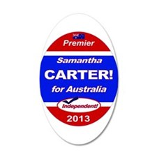 Carter for PM! Wall Decal