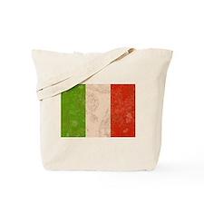 Vintage Italian Flag Tote Bag