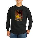 Kirk 7 Long Sleeve Dark T-Shirt