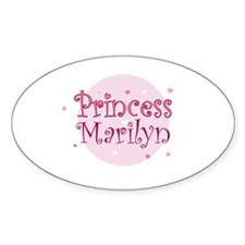 Marilyn Oval Decal