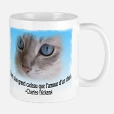 le chaton de Dickens Mug (2-sided)