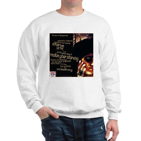 Pavlov's Response poem Sweatshirt