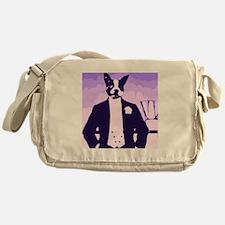 Dog About Town Messenger Bag