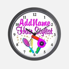 1ST PLACE STYLIST Wall Clock