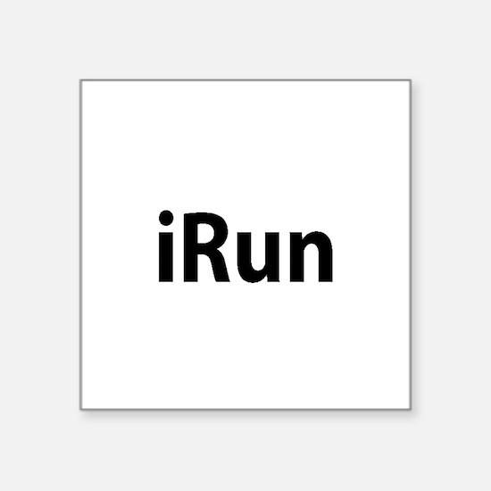 iRun Sticker