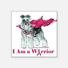 Schnauzer Warrior Sticker