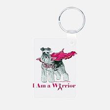 Schnauzer Warrior Keychains