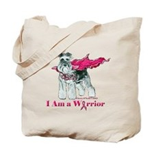 Schnauzer Warrior Tote Bag