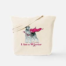 Schnauzer Warrior Tote Bag