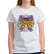 Christmas Cartoon Jingle Bells with a Bow T-Shirt