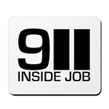 911 Inside Job Mousepad
