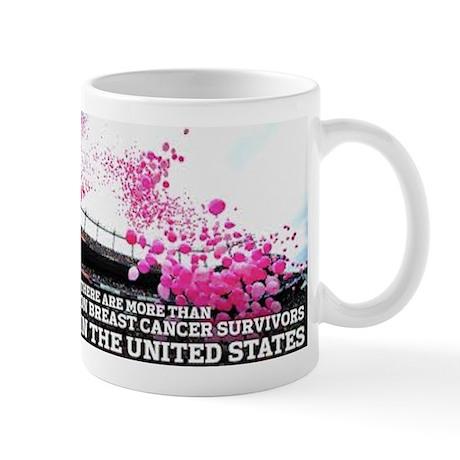 Over 2 Million Breast Cancer Survivors Mug