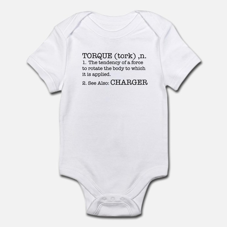 Torque - Charger Infant Bodysuit
