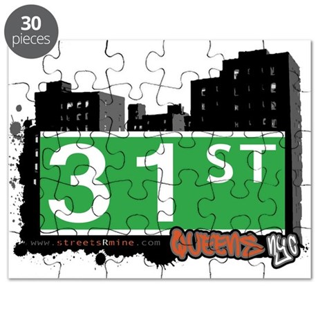 31 STREET, QUEENS, NYC Puzzle