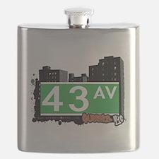 43 AVENUE, QUEENS, NYC Flask