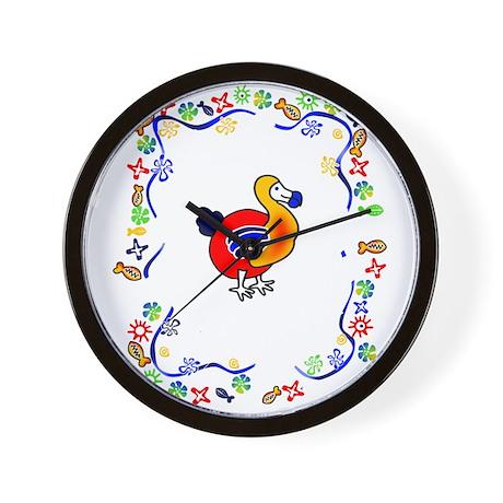 Dodo tropical Wall Clock