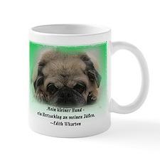 Pug Welpe 2-sided Mug