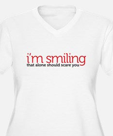 smiling Plus Size T-Shirt