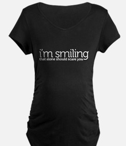 smiling Maternity T-Shirt