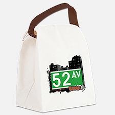 52 AVENUE, QUEENS, NYC Canvas Lunch Bag