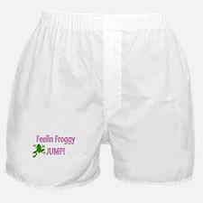 Feelin Froggy P&G Boxer Shorts