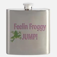 Feelin Froggy P&G Flask