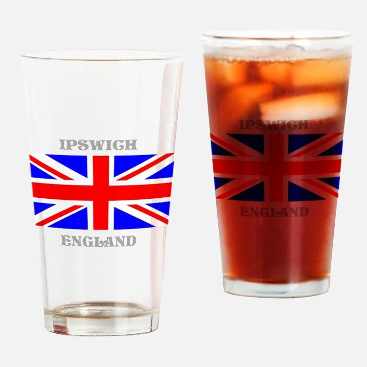 Ipswich England Drinking Glass