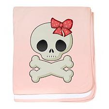 Skull Sweetie Baby Blanket