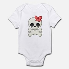 Skull Sweetie Infant Toddler Romper.