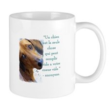 chiot de Dachshund 2-sided Mug